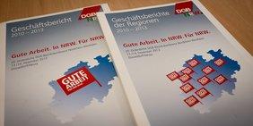 Geschäftsbericht DGB NRW 2010-2013