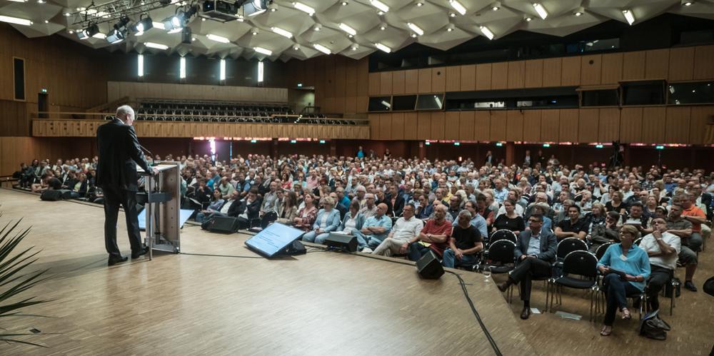 Bundestagswahl: Gewerkschaften und Betriebsräte diskutieren mit Politik