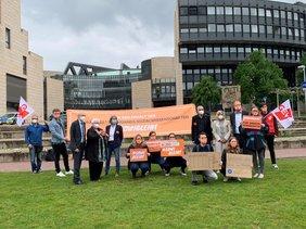 GEW NRW Demo #sowibleibt