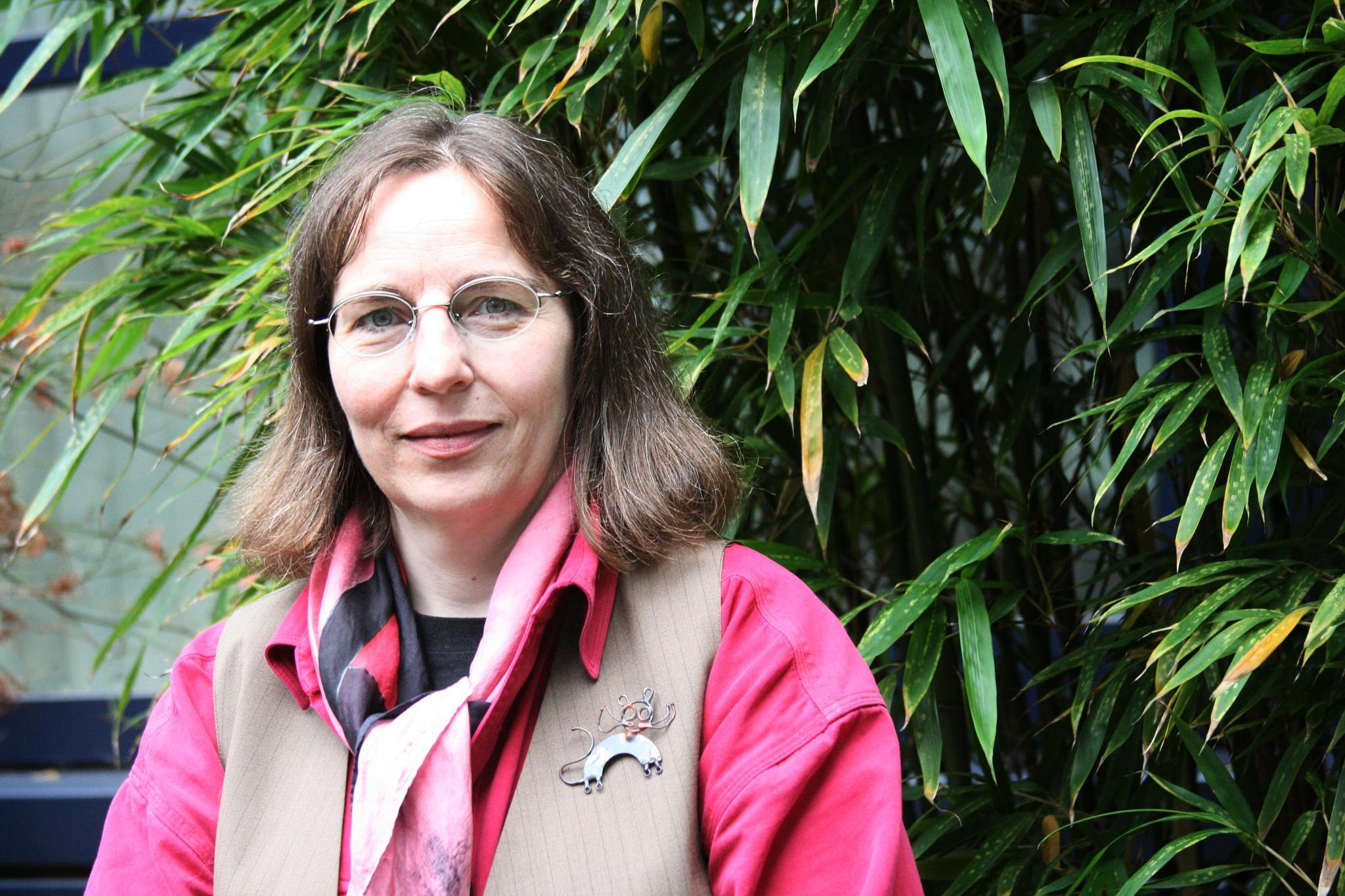 Anke Rudat, Mitglied im DGB-Stadtverband Hagen