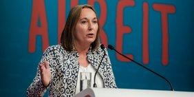 Anja Weber, Vorsitzende DGB NRW, spricht im Interview über ihre Pläne für die Gewerkschaften