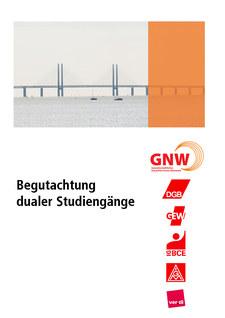 Titelseite Begutachtung dualer Studiengänge, GNW-Handreichung