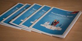 Digitalisierung im öffentlichen Dienst: Broschüre des DGB NRW