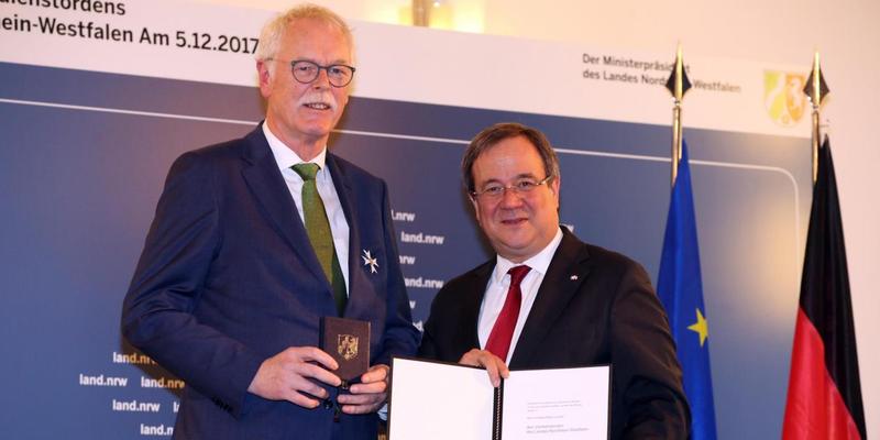 Andreas Meyer-Lauber erhält Landesverdienstorden
