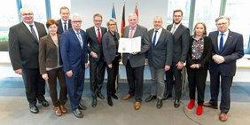 Sozialer Arbeitsmarkt schnell in NRW umsetzen: Das ist das Ziel der Erklärung von Arbeitsministerium, Arbeitgeber, Gewerkschaften und Kommunen