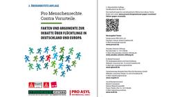 Titelblatt Pro Menschenrechte. Contra Vorurteile