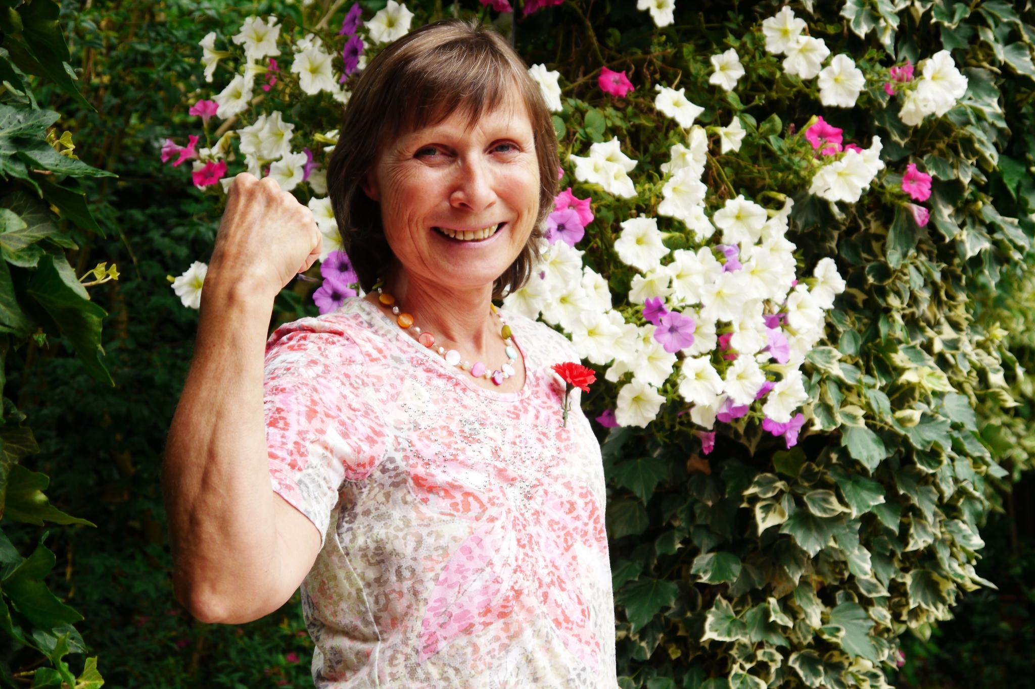 Karin Wolk, Vorsitzende des DGB-Ortsverbands Rheinberg-Alpen-Sonsbeck-Xanten