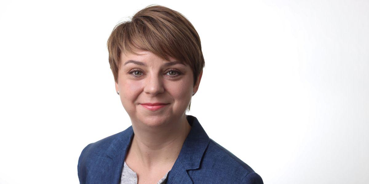 Anne Knauf, Ansprechpartnerin in der Initiative NRW 2020 des DGB NRW