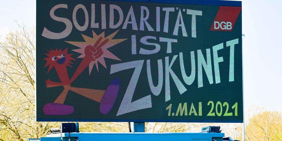 1. Mai in Düsseldorf