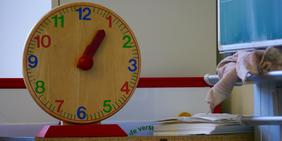Schule, Uhr