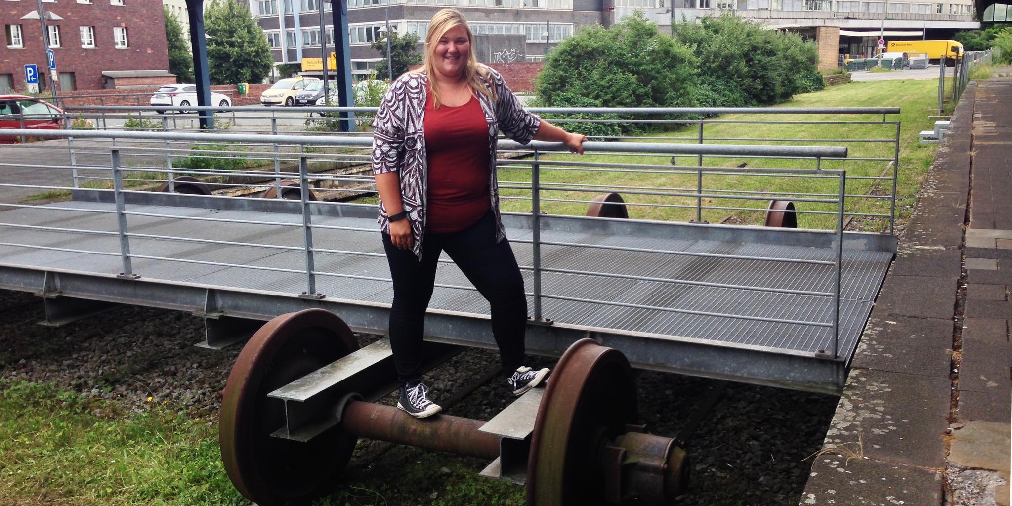 Michelle Mauritz, Vorsitzende des DGB-Stadtjugendausschusses in Duisburg
