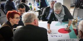 Tagung der Kreis- und Stadtverbände zum Zukunftsdialog im DGB-Haus Düsseldorf