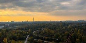 Duisburg im Ruhrgebiet