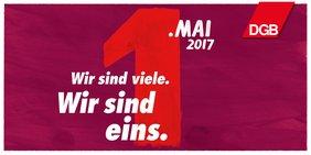 DGB-Logo 1. Mai 2017