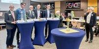 Podiumsdiskussion mit Norbert Wichmann (DGB NRW), Stefan Schemann (Elternpflegschaft der PRIMUS Schule), Mattias Otto (Schulministerium NRW), Jochen Ott (SPD, MdL, Prof. Dr. Till-Sebastian Idel und Sven Pauling (beide Uni Bremen), Sigrid Beer (Bündnis 90/Die Grünen, MdL) Moderation Maike Finnern (stellvertretende Vorsitzende GEW NRW)