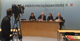 Landespressekonferenz des DGB NRW und der GEW zum Bochumer Memorandum