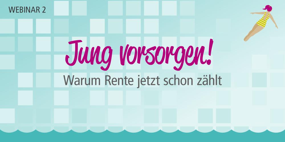 Gratis-Webinar Altersvorsorge für Frauen