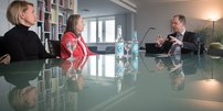 DGB NRW-Chefin Anja Weber trifft Integrationsminister Joachim Stamp