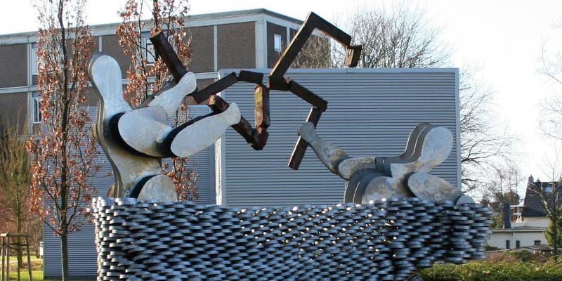 Manhmal in Solingen zum Gedenken an Brandsnschlag 1993