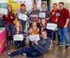 Studierende der Gewerkschaftsjugend an der Uni Aachen fordern bessere Studienbedingungen