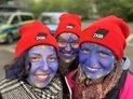 Die Jugendlichen aus dem DGB-Haus der Jugend in Gelsenkirchenhaben auch in diesem Jahr wieder eine kreative Aktion zum Tag der Arbeit organisiert.