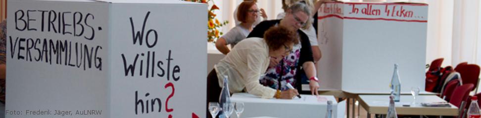 Betriebsrätinnentag 2015 (Foto: Frederik Jäger, AuLNRW)