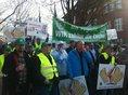 1.500 Beamte demonstrieren gegen Politik der Landesregierung