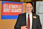 Manfred Maresch, Bezirksleiter des IG BCE Bezirks Alsdorf auf der Bezirksfrauenkonferenz am 19.11.16