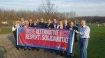 Die Mitglieder der SPD-Fraktion des Regionalrates Düsseldorf bekennen sich zur DGB Kampagne für Resekt & Solidarität  auf ihrer Klausurtagung in Wesel