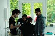 Das Café Vielfalt bietet Flüchtlingen und Einheimischen dienstags und freitags von 16 bis 20 Uhr einen Treffpunkt im DGB-Haus der Jugend in Gelsenkirchen.