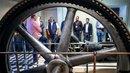 Dampfmaschine: Betriebsräte in dasa-Ausstellung