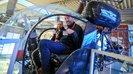 Betriebsräte in Hubschrauber in der dasa