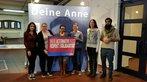 DGB-Jugend OWL bei der Führung zur Anne-Frank-Ausstellung