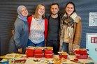 Infostand der DGB-Jugend an der Uni Düsseldorf