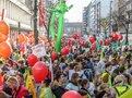Gewerkschaften demonstrieren für bessere Bedingungen im öffentlichen Dienst