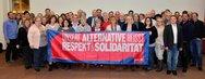Der ver.di-Landesfachbereichsvorstand Handel setzt ein Zeichen für Respekt und Solidarität.
