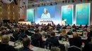 DGB NRW-Vorsitzende Anja Weber beendet die Konferenz und freut sich auf die Umsetzung der beschlossenen Anträge.