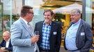 Gespräche beim Parlamentarischen Abend des DGB im NRW-Landtag