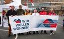 """""""Wir wollen wohnen"""" in Mönchengladbach"""