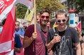 Pflege-Beschäftigte demonstrieren für mehr Personal in Düsseldorf