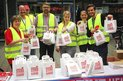 Gewerkschaften machen sich bei Pendleraktion in Münster für gute Rente stark