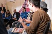 Arbeiterjugendverbände treffen Kanzlerkandidat Martin Schulz