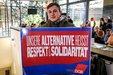 """Jugendaktion zur Kampagne """"Unsere Alternative heißt Respekt und Solidarität"""""""