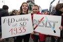 Gewerkschaften gegen AfD-Bundesparteitag in Köln am 22. April 2017