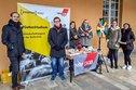 Infostand der DGB-Jugend an der Uni Bonn