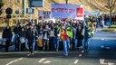 Demozug: Warnstreik im öffentlichen Dienst in Bochum