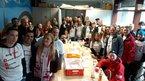 In Köln bereitet sich die DGB-Jugend für den 1. Mai vor.