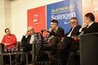 Zukunft der Arbeit und die Digitalisierung: Diskussion mit Sigmar Gabriel bei der SPD Solingen